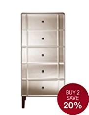 Sloane 5 Drawer Tallboy