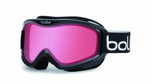 Bollé Mojo Ski Goggle - Shiny Black Frame Vermillion Lens