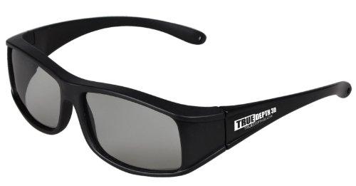 True Depth 3D® circular Polarized glasses for Passive LG 3D TVs