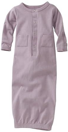 L'ovedbaby Unisex-Baby Newborn Gown, Lavender, 0-3 Months