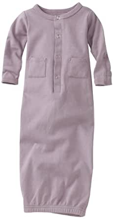 L'ovedbaby Unisex-Baby Newborn (up to 7 lbs.) Gown, Lavender, Newborn (up to 7 lbs.)