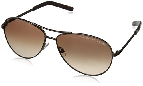 marc-by-marc-jacobs-womens-mmj343s-aviator-sunglasses-shiny-brown-59-mm