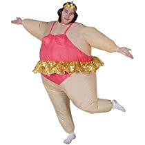 Inflatable Ballerina Adult Costume Size Standard