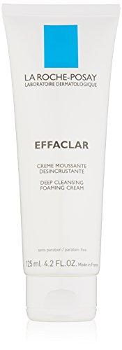 La Roche-Posay Effaclar Deep Cleansing Foaming Cream 4.2 Fluid Ounce Tube