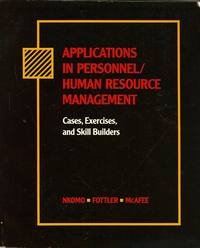 Applications in Personnel / Human Resource Management: