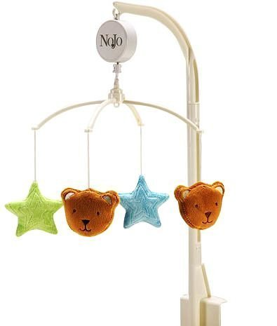 Wishes & Kisses Beary Cute Musical Mobile