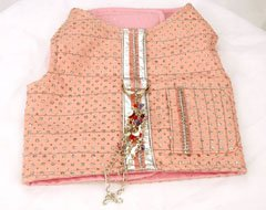 13842f6ccd7 The Features Glitter Bug Sparkly Dog Vest with Built In Harness Large -
