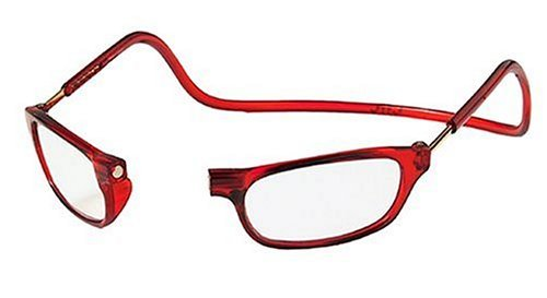 red-frame-adjustable-front-magnetic-connect-reading-glasses-expandable-readers-eyeglasses-200-for-el