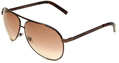 Gucci 1827/S Aviator Sunglasses,Chocolate Frame/Brown Gradient Lens,One Size