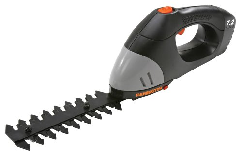 Remington RM724GSS 7.2 Volt Cordless Electric 4-Inch Grass Shear/6-Inch Hedge Trimmer Combo