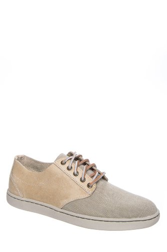 Sperry Top-Sider Men's Cloud Logo Newport Cup Leather & Canvas Sneaker