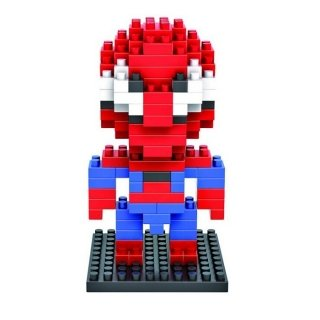 LOZ 130pcs M-9154 Spider-man Building Block Educational Assembling Toy by Completestore