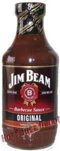 Hot Sauce Depot 60293000 Jim Beam Kentucky Bourbon BBQ Sauce, 18oz - Pack of 3