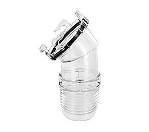 RV Trailer VALTERRA LLC Ez Coupler 45 Hose Adpt Clear Sewer Hose Connector (Rv Drain Clear compare prices)