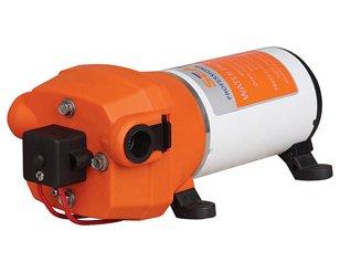 12v Water Pressure Pump 17 L/m 4.5gpm 40psi Motor Home / Caravan / Boat