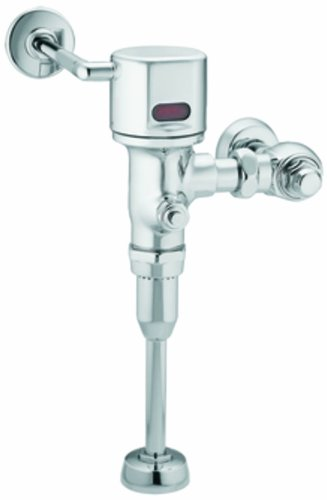 Moen 8312AC10 M-Power 3/4-Inch Urinal AC Powered Exposed Sensor-Operated Electronic Flush Valve 1.0 gpf, Chrome