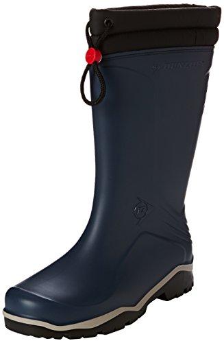 Dunlop Blizzard blau, Winter Gummistiefel, 42