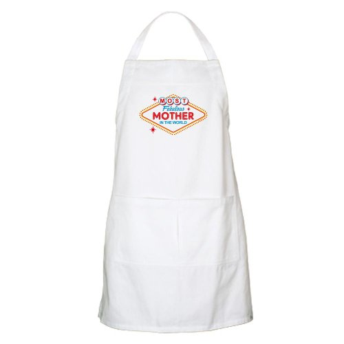 Cafepress Las Vegas Fabulous Mom BBQ Apron - Standard