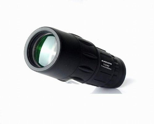 Suncore Mini 10x40 Monocular Telescope Single Cylinder High-definition