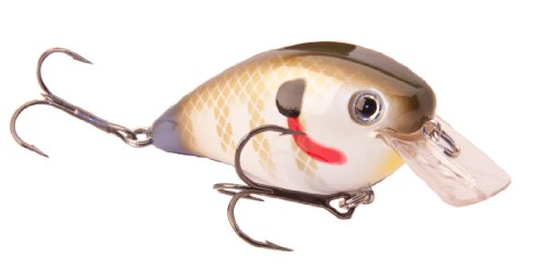 Strike King Lure Company Strike King Square Bill Crankbait (Sexy Sunfish, 1.5-Ounce)