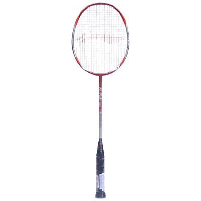Li-Ning G-Tek 90 Muscle Badminton Racquet (Red/Silver)