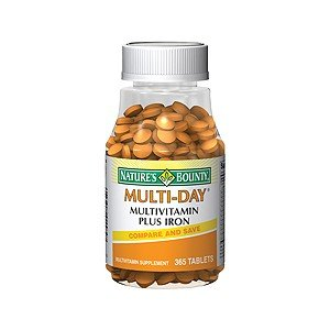 Natures Bounty Multi-Day Plus Iron 1584 365Tb By Nature'S Bounty ***