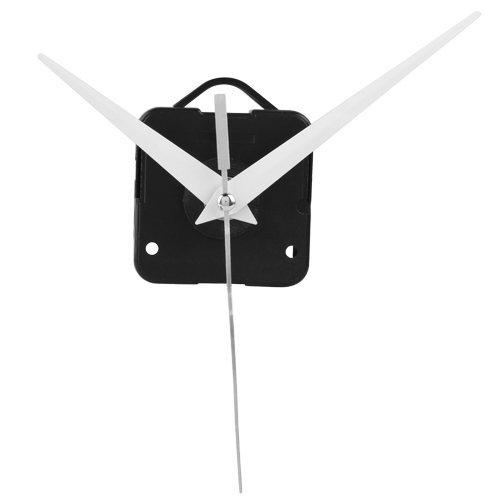 Toolmall White Hands Quartz Clock Movement Mechanism Diy Repair Parts front-486604
