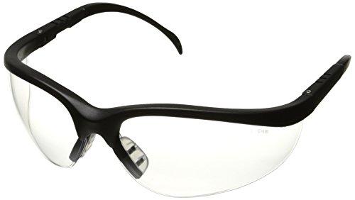 klondike-black-frame-clear-lens-safety-spectacle