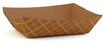 Southern Champion Tray 0505 #40  ECO Kraft Paperboard Food Tray, 6-oz Capacity (Case of 1000)