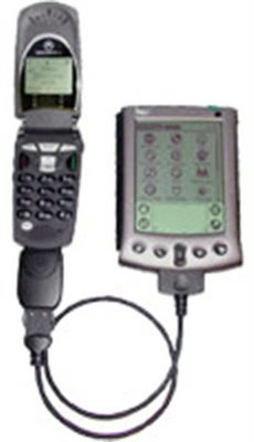 New Motorola Multi-Connect Serial Data Kit Included Gprs Manager Software & Palm V Series Pda Cable