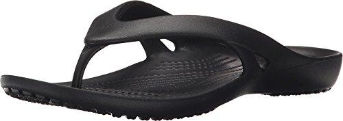 Crocs Women's Kadee II Flip, Black 8 W