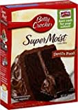 Betty Crocker Super Moist Cake Mix Devils Food 432g