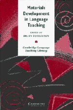 Materials Development in Language Teaching (Cambridge Language Teaching Library)