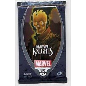 Marvel VS System Trading Card Game Marvel Knights Booster Pack 14 Cards (Marvel Knights Vs System compare prices)