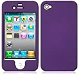 IPHONE 4 HYBRID ARMOUR CASE PURPLE PART OF THE BCW ACCESSORIES RANGEby BCW