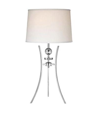Lite Source Triocof Table Lamp, White
