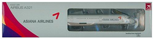 hogan Wings 1/200 A321 アシアナ航空 ランディングギア&スタンド付