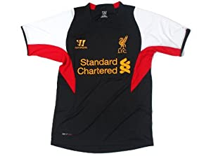 Liverpool Black Training Jersey 201213 - Size Large Adults from Warrior