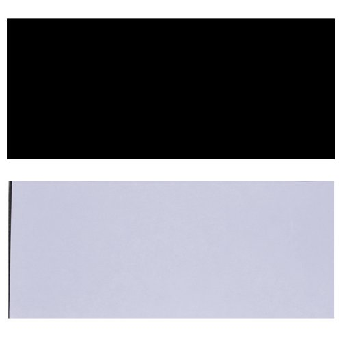 Black +Transparent 18X46Cm Soft Adhesive Acoustic Guitar Pickguard Scratch Plate Soft Sheets front-178182