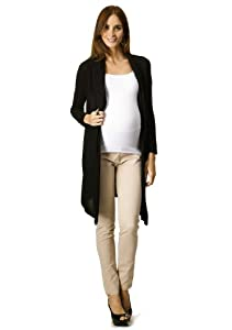Rosie Pope Maternity Long Sleeve Draped Neck Cardigan