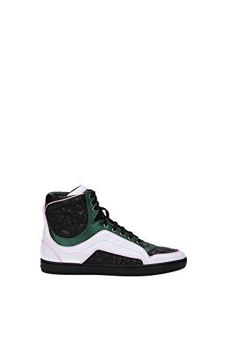 Sneakers Christian Dior Donna Pelle Nero, Bianco, Verde e Rosa KCK060VNV900 Nero 37EU