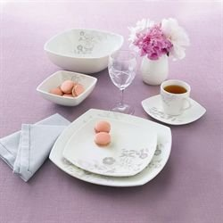 Luminarc e3968 songe service de table 6 assiettes 6 for Service de table japonais