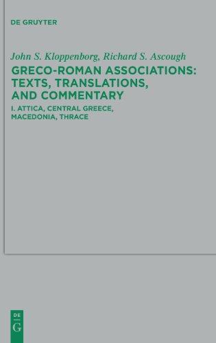 Attica, Central Greece, Macedonia, Thrace (Beihefte Zur Zeitschrift F R die Neutestamentliche Wissensch)