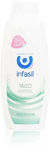 Infasil - Talco, Bagnoschiuma Al Profumo Di Talco -  750 Ml