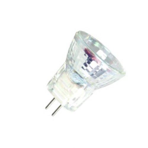 10 Qty. Halco 10W Mr8 Wfl Lns 12V Gu4 Prism Mr8W10/L 10W 12V Halogen Wide Flood W/Lens Lamp Bulb