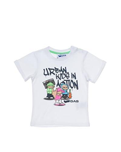 Gas T-Shirt Manica Corta [Bianco]