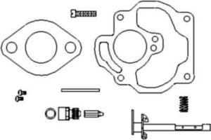 oliver tractor carburetor engine wiring diagram