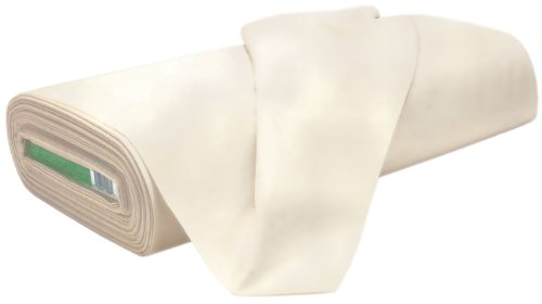 100% Cotton Unbleached Muslin 120 Inch W, 15 Yds-Natural