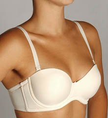 Qt Seamless Molded Cup 5 Way Convertible Bra #1103
