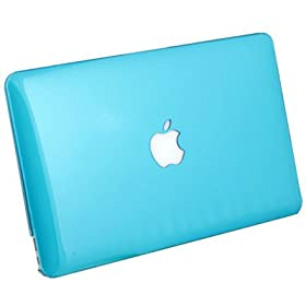 For MacBook Air 11.6 Slim Crystal Hard Case Cover Azure